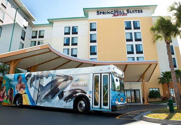 SHG was the project manager for the SpringHill Suites Orlando at SeaWorld which opened in 2009.